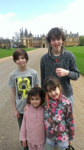 at Waddesdon Manor with kids