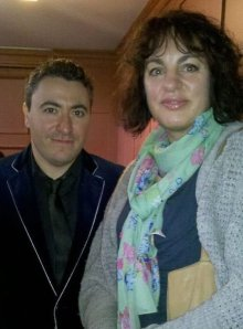 Meeting Virtuoso violinist Maxim Vengerov after his Oxford Masterclass