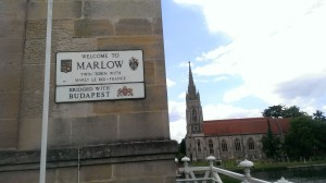 Marlow - bridge plaque