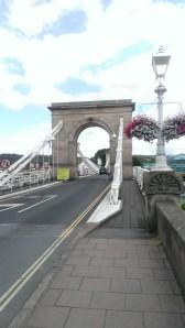 Marlow suspension bridge