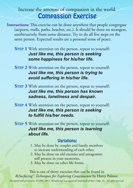 Avatar Compassion Exercise