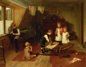 Children-at-Play by Harry Brooker