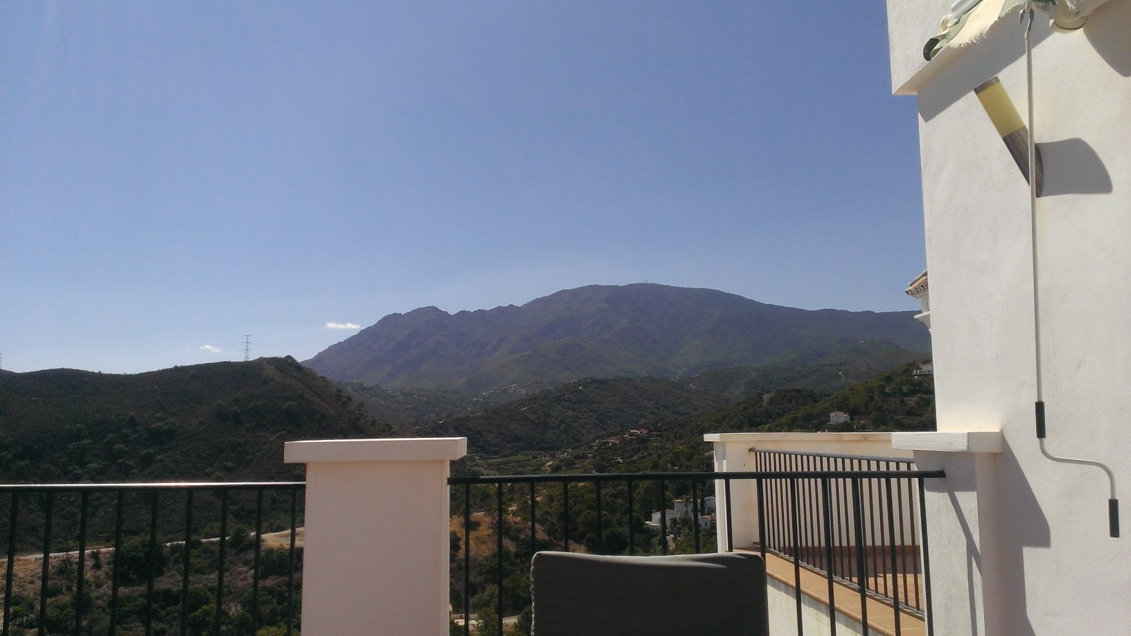 Mountain View From Balcony At Forest Hills Rhap So Dy In Words