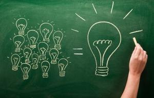 creativity lightbulbs