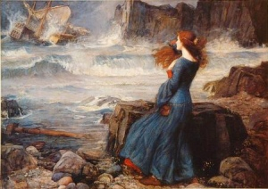 JW Waterhouse - Shakespeare - Miranda-The Tempest