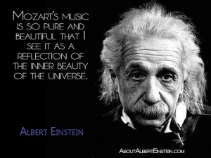 Einstein on Mozart