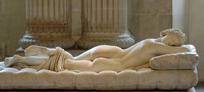 Borghese_Sleeping Hermaphroditus_Louvre