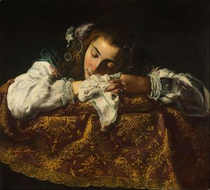 Sleeping Girl, by Domenico Fetti