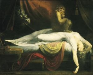 The Nightmare, by John Henry Fuseli