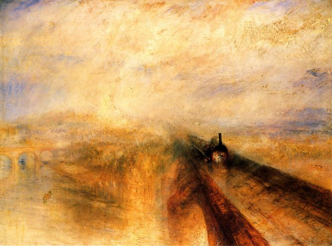 JMW Turner - Rain_Steam_and_Speed_the_Great_Western_Railway