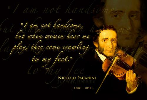Paganini quote