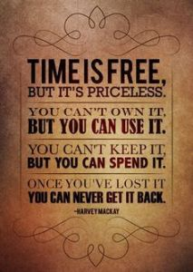 Time is free