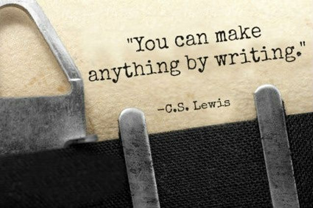 CS Lewis writing-quote