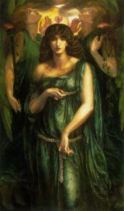 Dante-Gabriel-Rossetti - Astarte-Syriaca