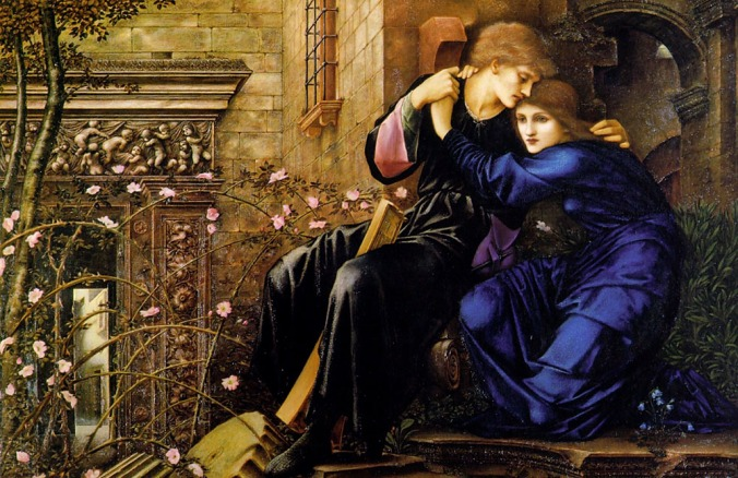 Edward Burne-Jones_Love_Among_the_Ruins