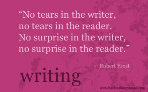 Robert Frost quote_writing