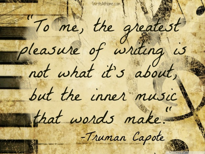 Truman Capote writing-quote