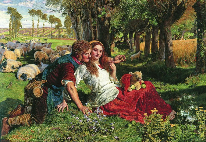 William_Holman_Hunt_The Hireling Shepherd