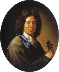 Portrait of Arcangelo Corelli by Jan Frans Douven.