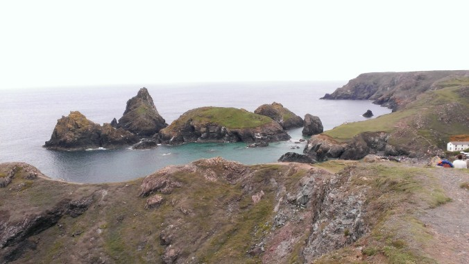 Kynance Cove at high tide