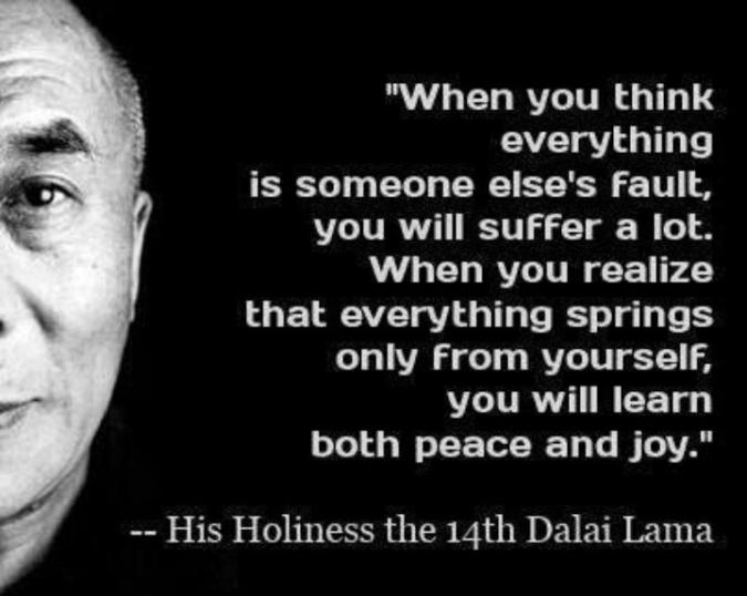 Dalai lama - suffering