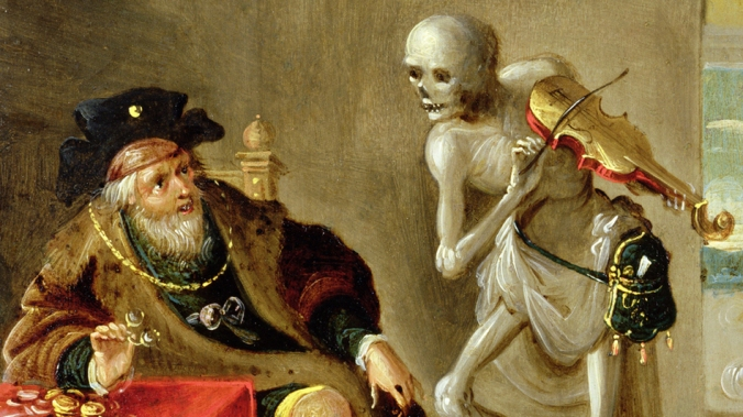 Frans Francken the Younger - Detail of Danse Macabre