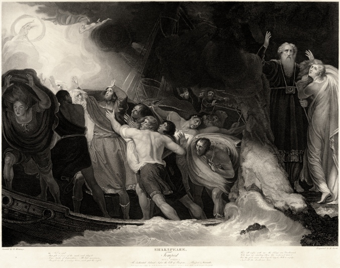 George Romney - William Shakespeare's The Tempest - Act 1, Scene 1