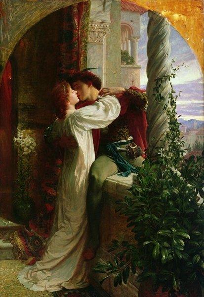 Sir Frank Bernard Dicksee - Romeo & Juliet c. 1884