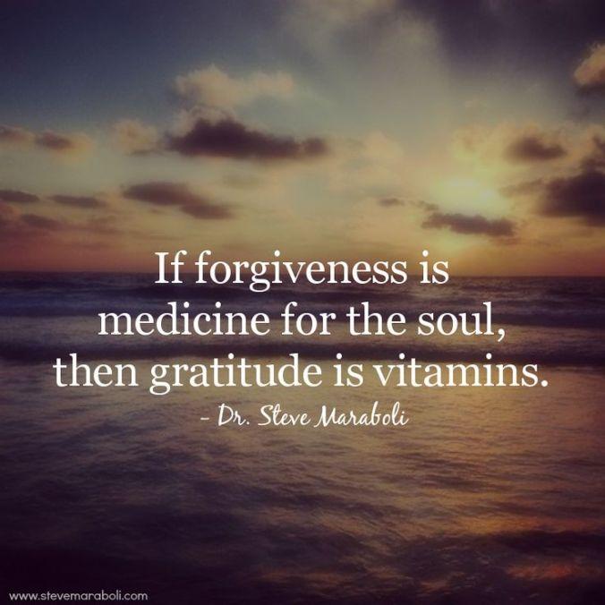 forgiveness - steve maraboli