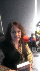 in the Marlow FM studio