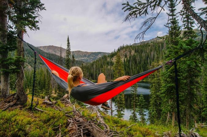 Hikers hammock