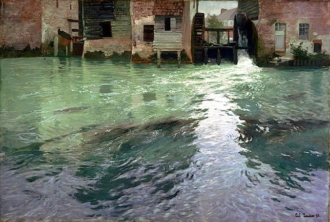 Frits Thaulow - Water Mill