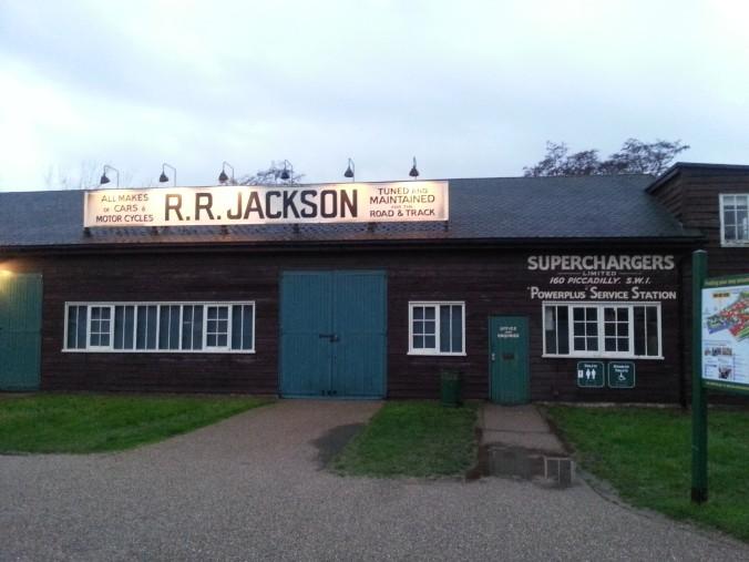 Jackson - F1 shed