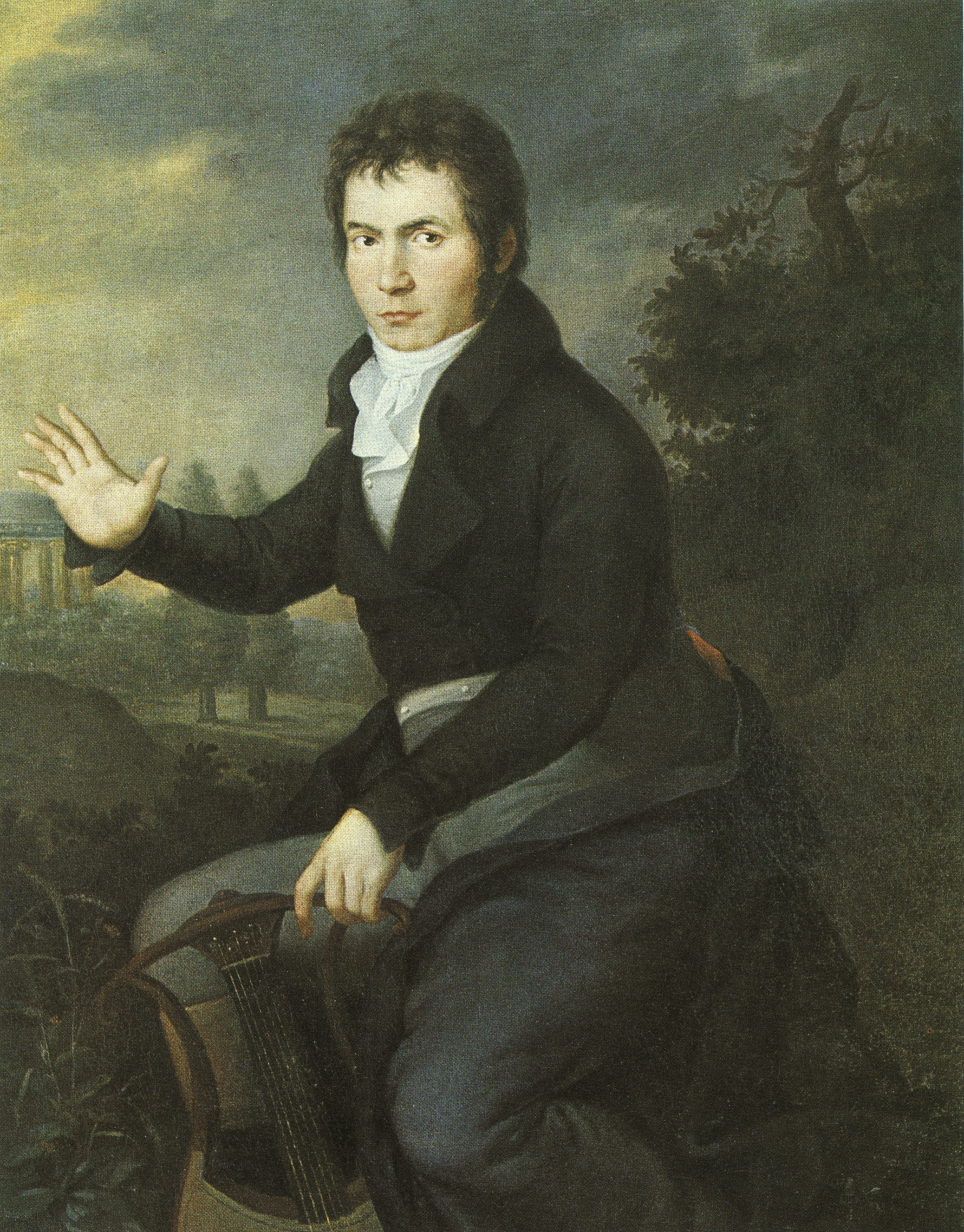 """beethovens life and music after napoleon essay His condition was not only affecting his musical output but also his social life,  which was very important to him  the original title of which was """"bonaparte   when beethoven was looking to secure his financial position in vienna, the  archduke rudolph was among three members of society who took over."""