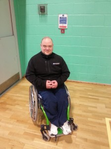 Chris Rattenbury - Wheelpower Ambassador