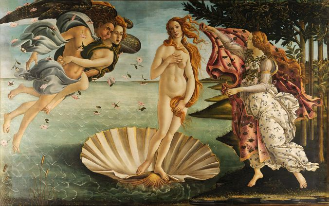 The Birth of Venus - Sandro Botticelli c. 1484-86