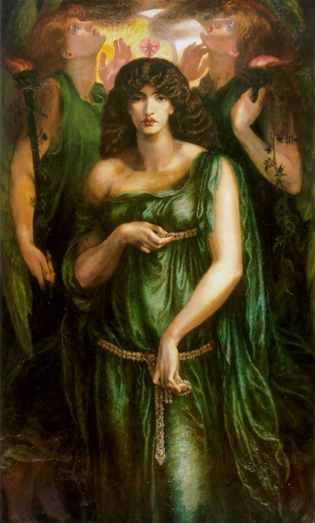 Astarte Syriaca - Dante Gabriel Rossetti c. 1878
