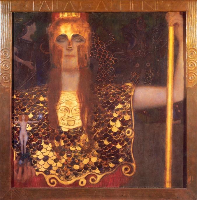 Athena - Gustav Klimt c. 1898