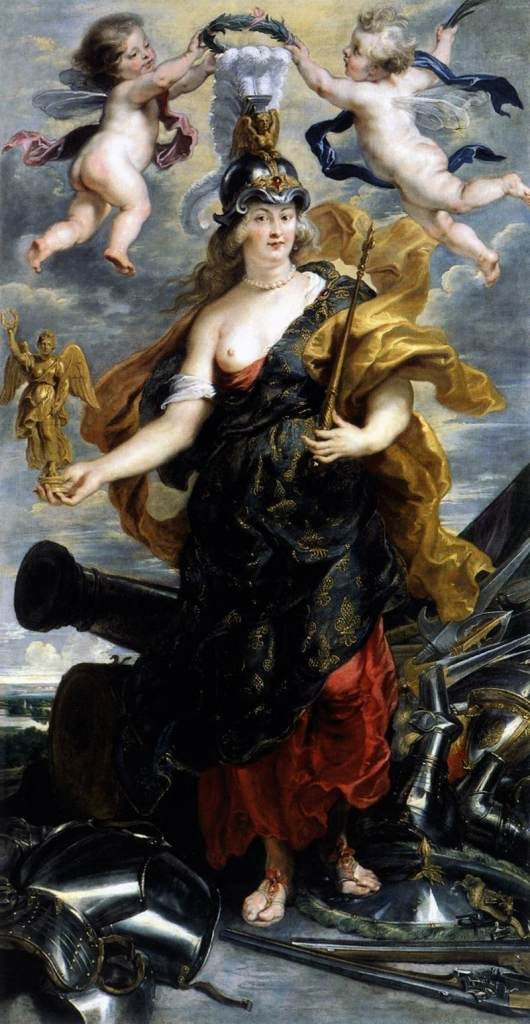 Marie de Medici as Bellona by Peter Paul Rubens c. 1625