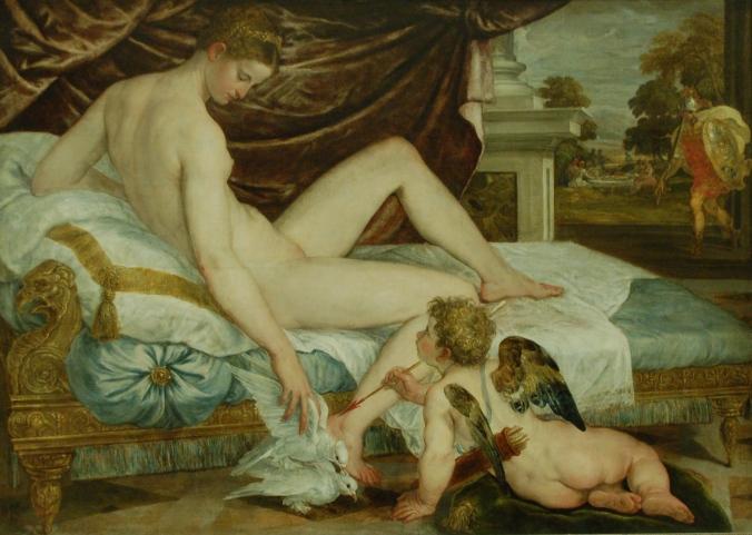 Venus et l'amour - Lambert Sustris c. 1550