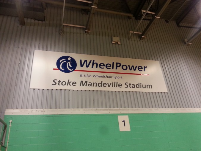 Wheelpower sign