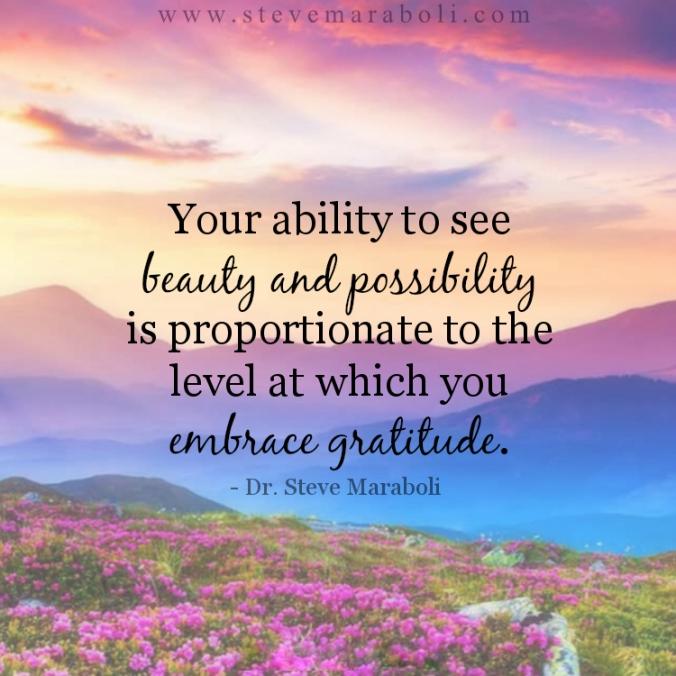 attitude - gratitude