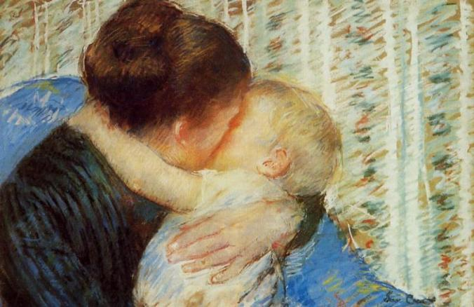 Mother and Child by mary Cassatt c. 1880