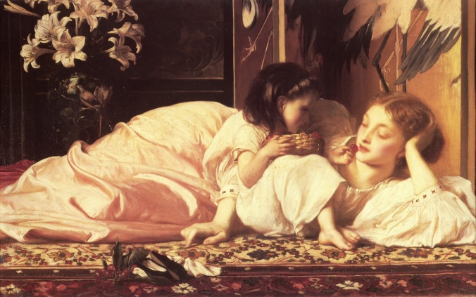 Mother and Child by Frederic Leighton