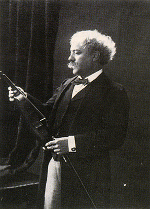 Sarasate with his Stradivarius