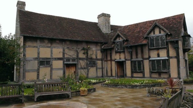 Shakespeare's birthplace in Henley Street