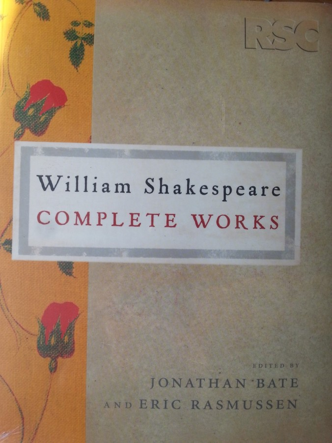 My treasured copy of the RSC Complete Works of William Shakespeare