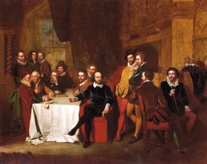 Shakespeare and his Contemporaries at The Mermaid Tavern by John Faed.