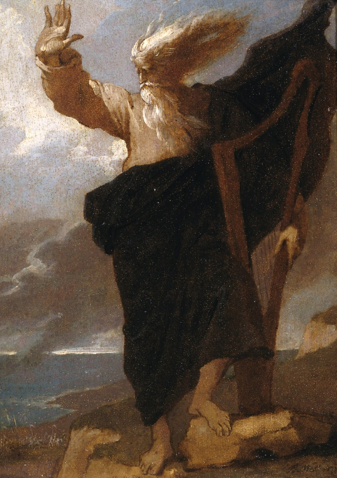 The Bard by Benjamin West