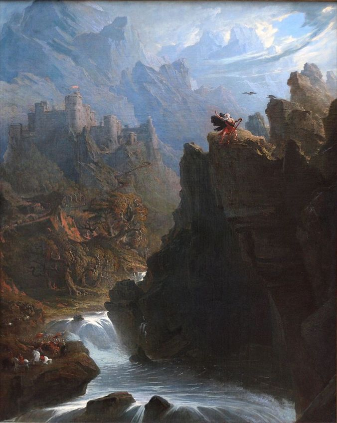 The Bard by John Martin c. 1817